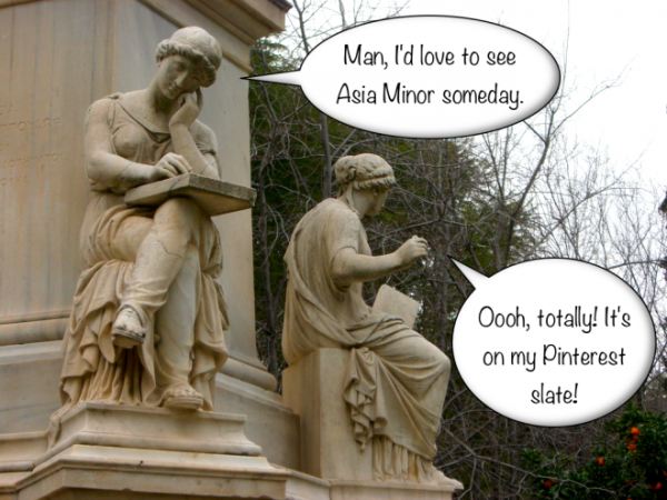 talking-greek-statues