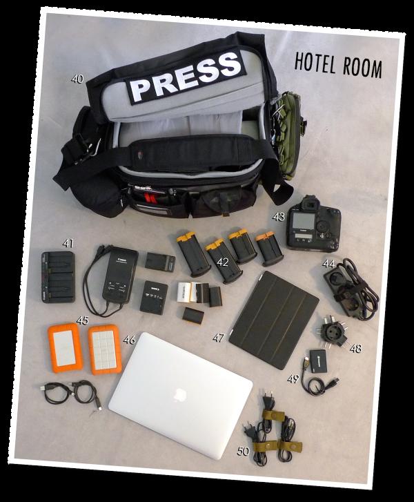 Hotel room stuff