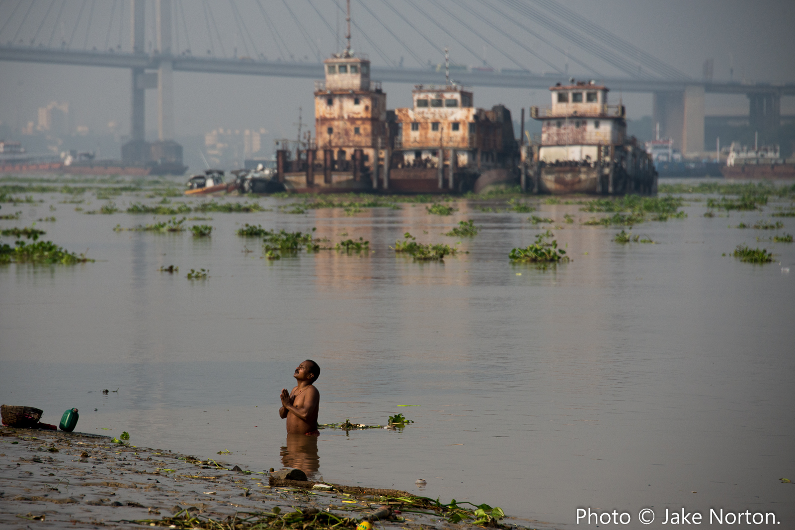 Following the Ganges from source to sea