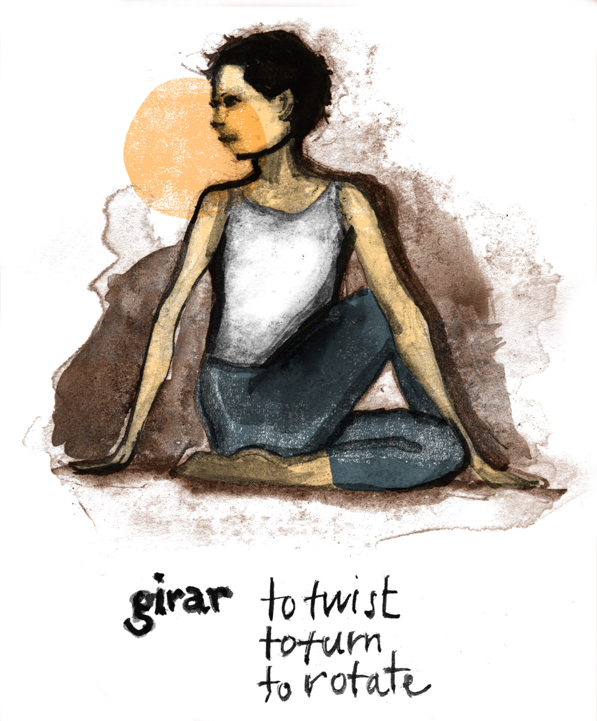 An Illustrated Guide To Practicing Yoga In Spanish