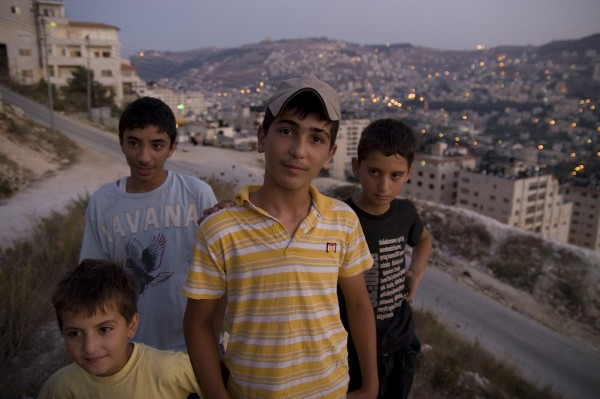West Bank kids