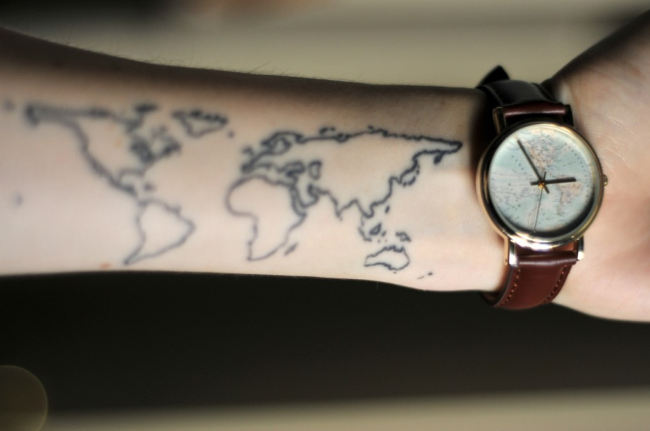 12 of my travel tattoos and the stories behind them – My Travels Map