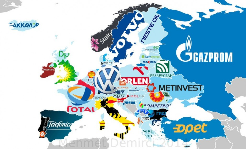 33 maps that will show you the world in new ways europes biggest companies gumiabroncs Choice Image