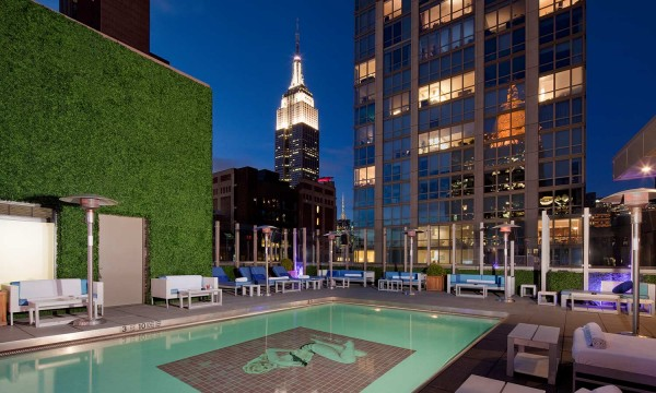 Gansevoort Park Avenue pool