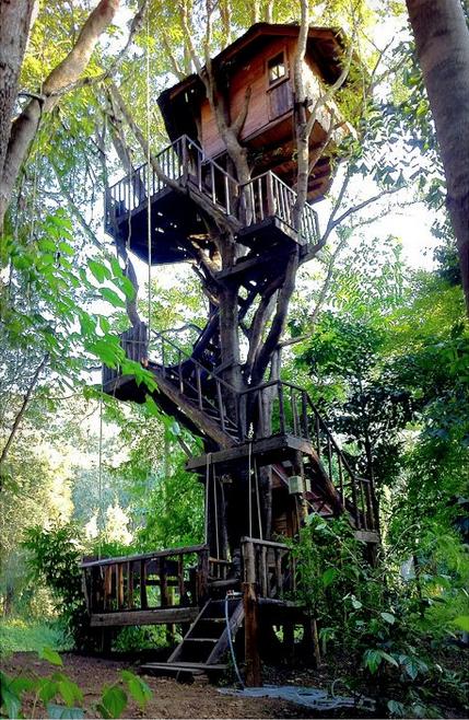 Thailand treehouse