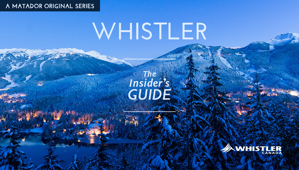 Whistler: The Insider's Guide