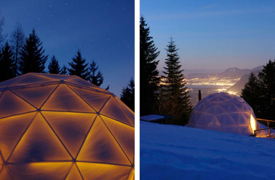 Whitepod Eco-Luxury Hotel (Massongex, Switzerland)