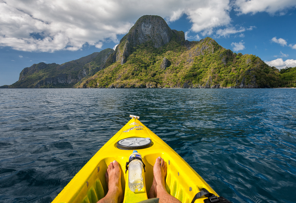 Explore by kayak