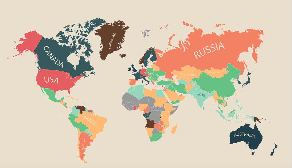 The Cost Of Living Everywhere In The World In A Single Infographic - Cost of living us map