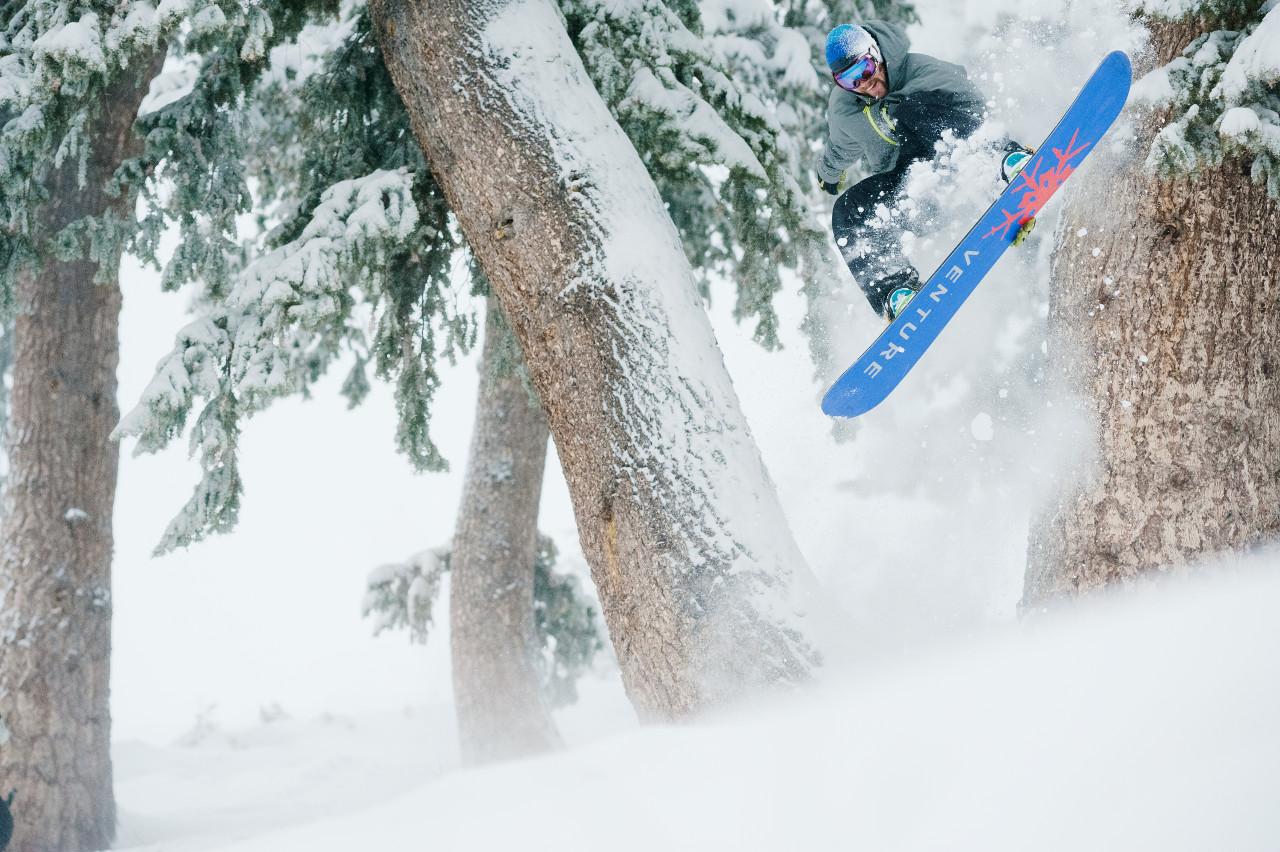 Sun Valley snowboarder