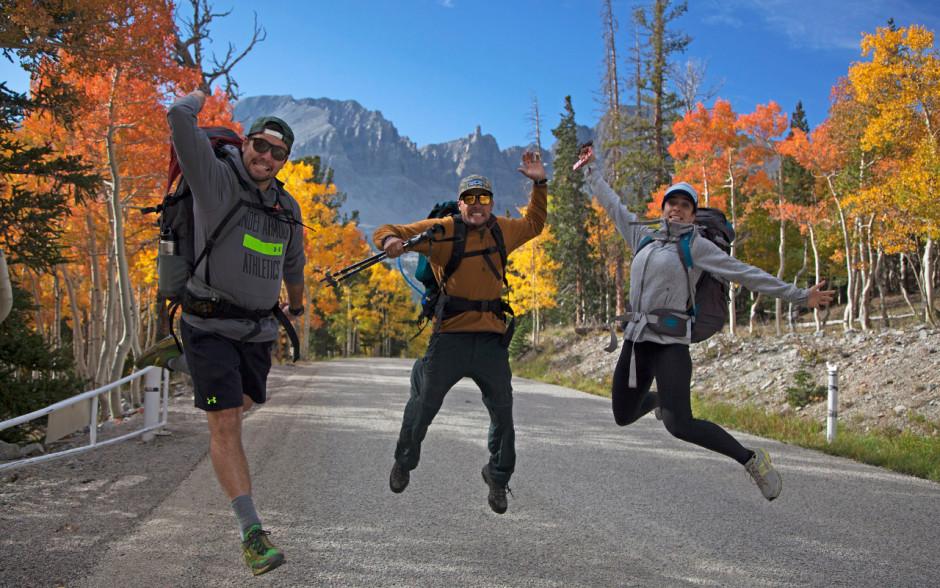 Great Basin hikers