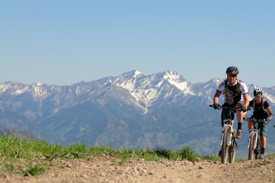 Sun Valley mountain bikers