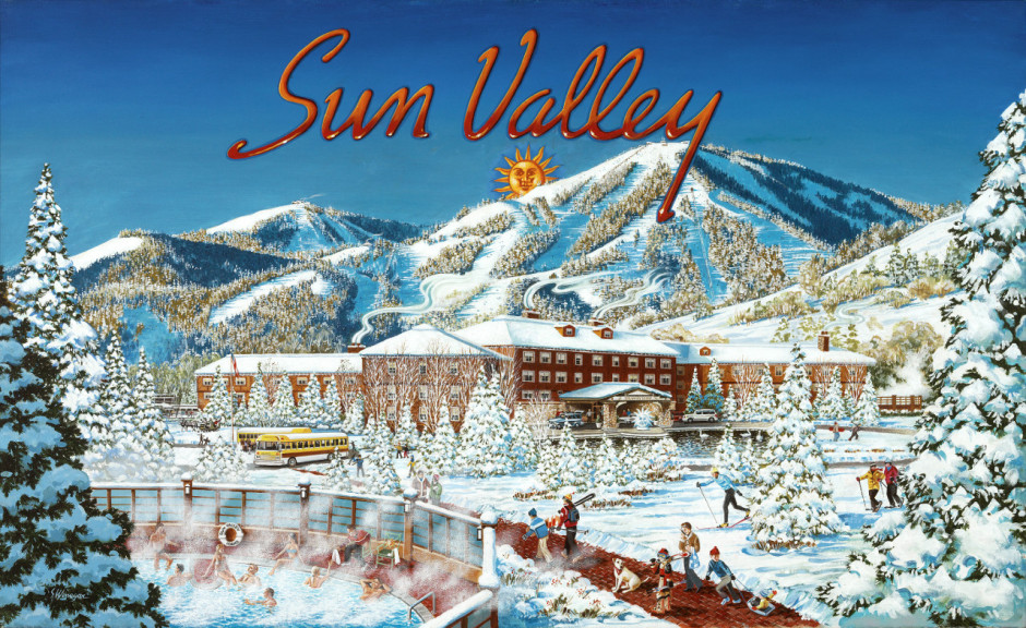 Sun Valley vintage poster