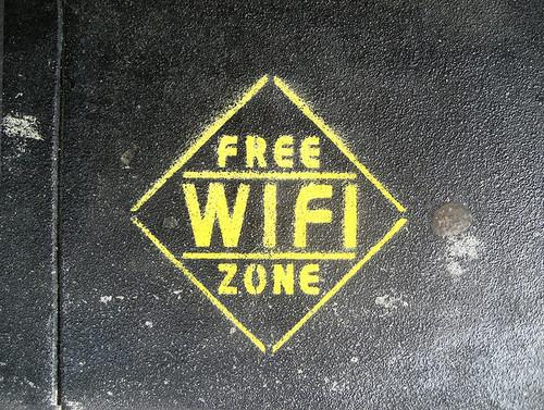 You're entering the Wi-Fi zone. (Photo: Flickr/Erin Pettigrew)