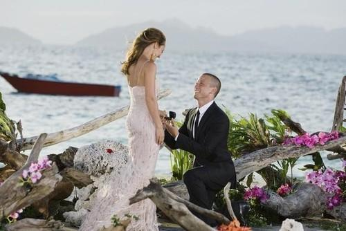 Fiji is where Ashley and JP got engaged. (Photo: ABC)