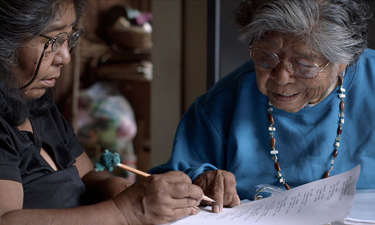 One woman's fight to preserve her native language
