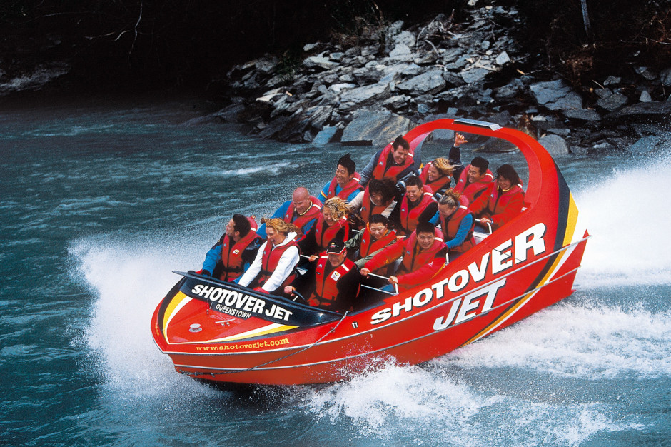 Shotover Canyon Jet Boat
