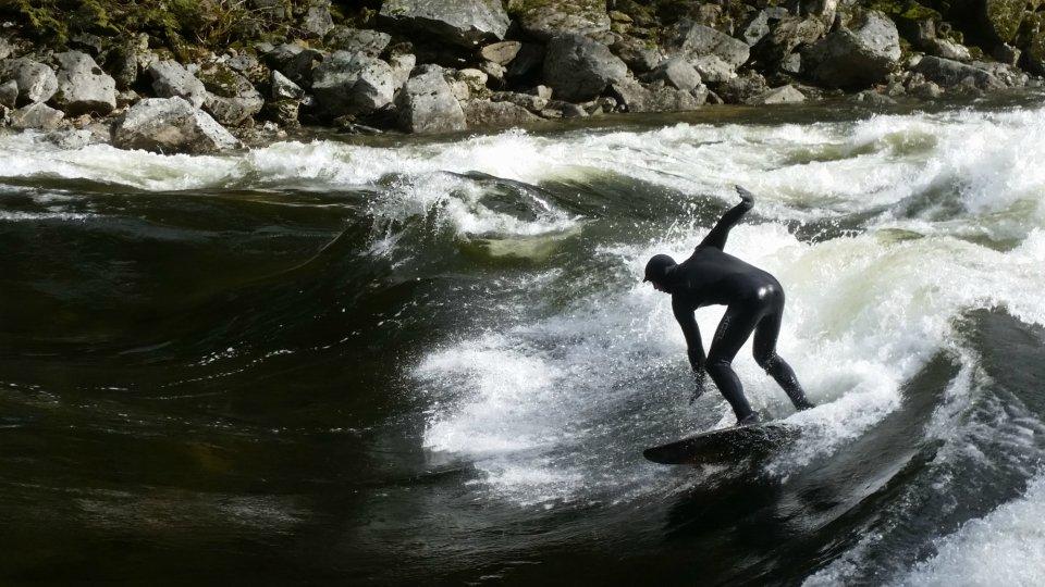 Idaho surf river