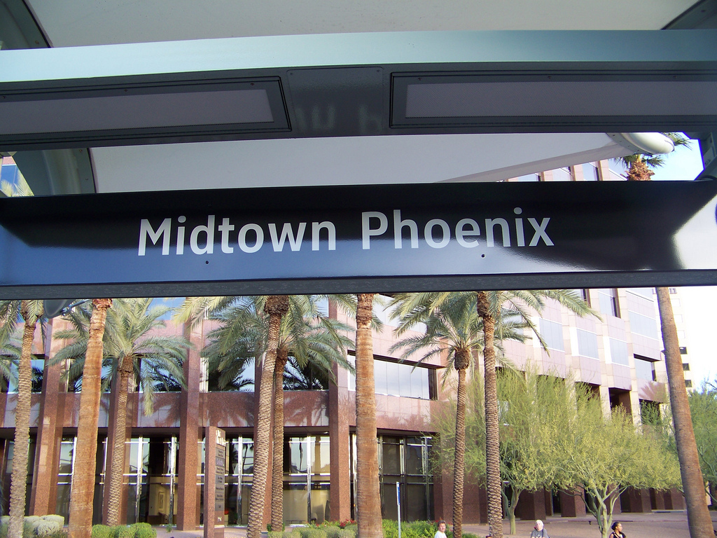 Midtown Phoenix Light Rail Station