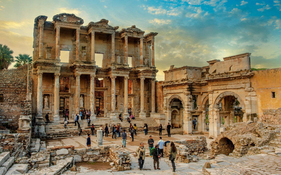 Ruins of Ephesus, Turkey