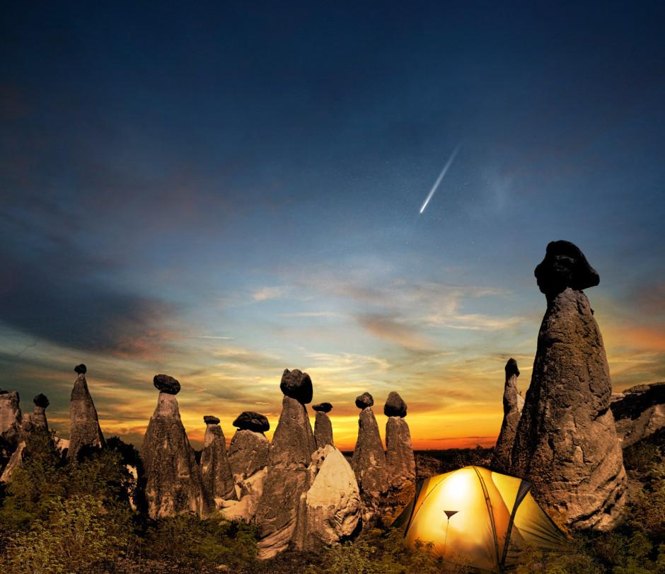 Camping in Cappadocia