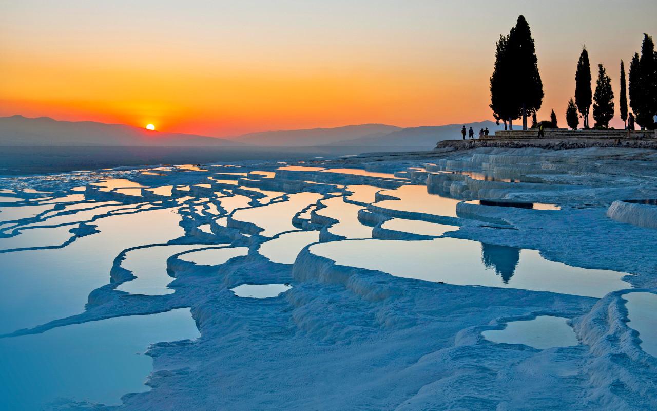 Pamukkale springs, Turkey