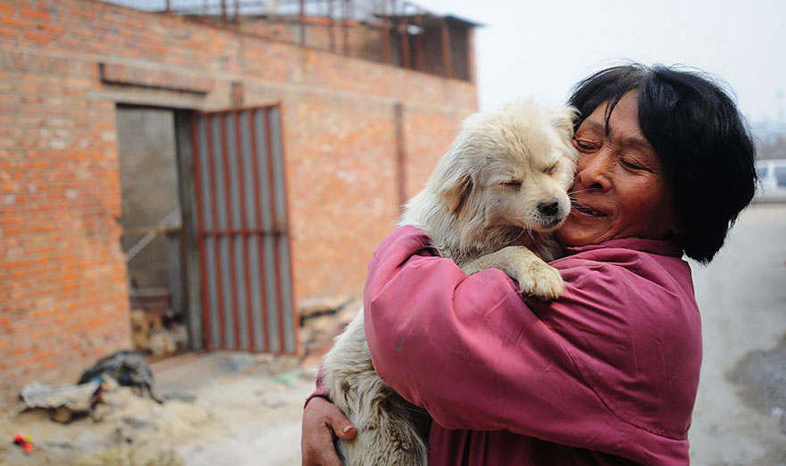 Chinese woman crosses continent and pays thousands to rescue