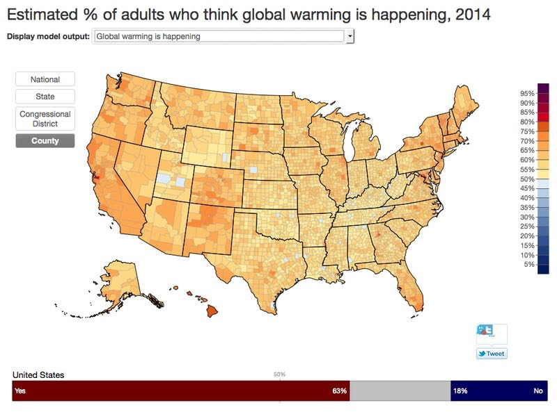 Show The Map Of America.Maps Show How Clueless America Is About Climate Change