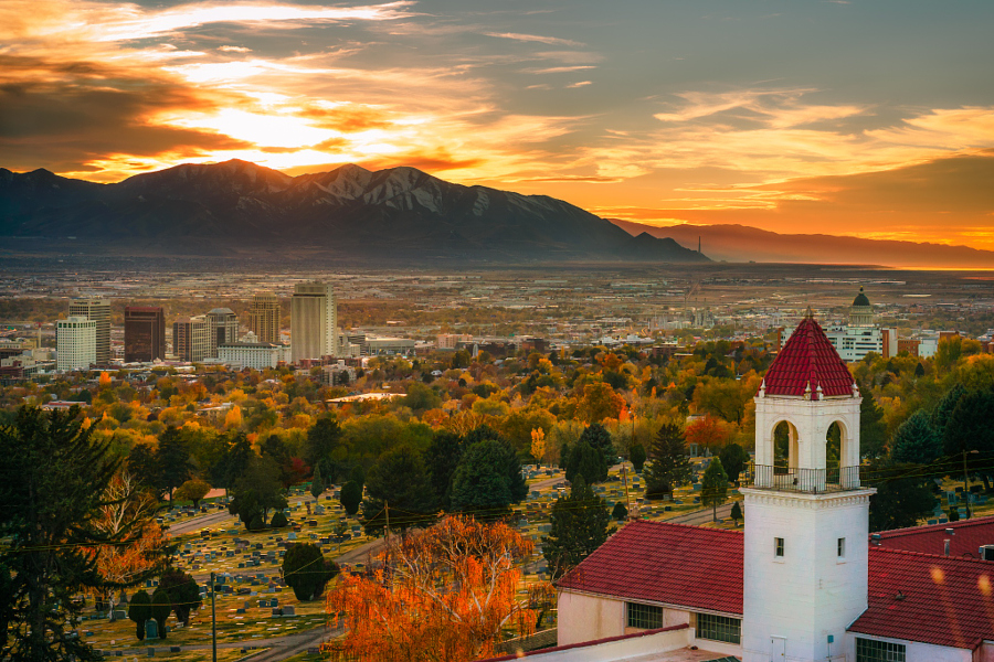 11 images that prove Salt Lake City has the best skylines in the West