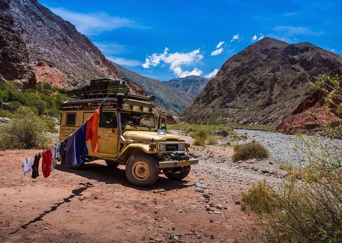 Camping in Argentina's remote wilderness is unbelievable. These photos explain.