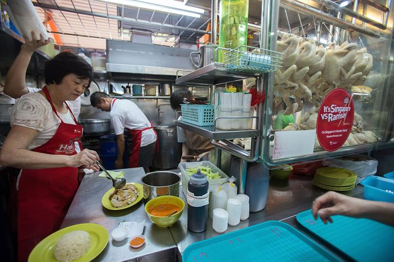 If you want to try Singapore's famous street food, you'd best make your trip now