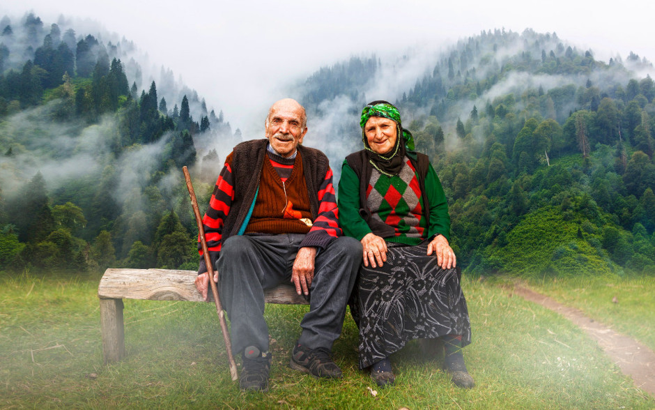Old Turkish couple