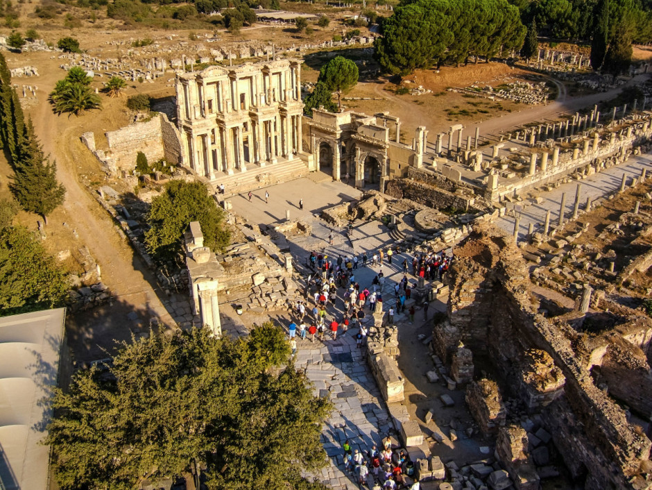 Ephesus from the air