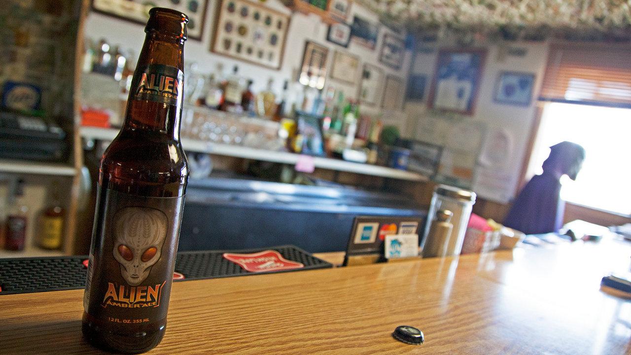 Alien Amber Ale, Nevada