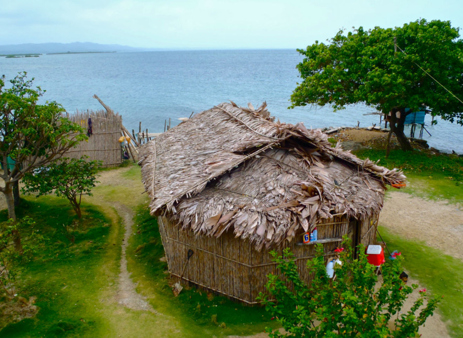 The cooking hut on Ariel's family's island. Photo by Dawson Simmonds.