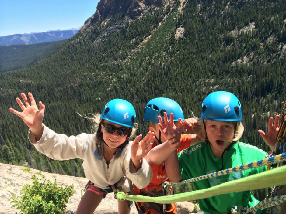 rock climb sawtooth