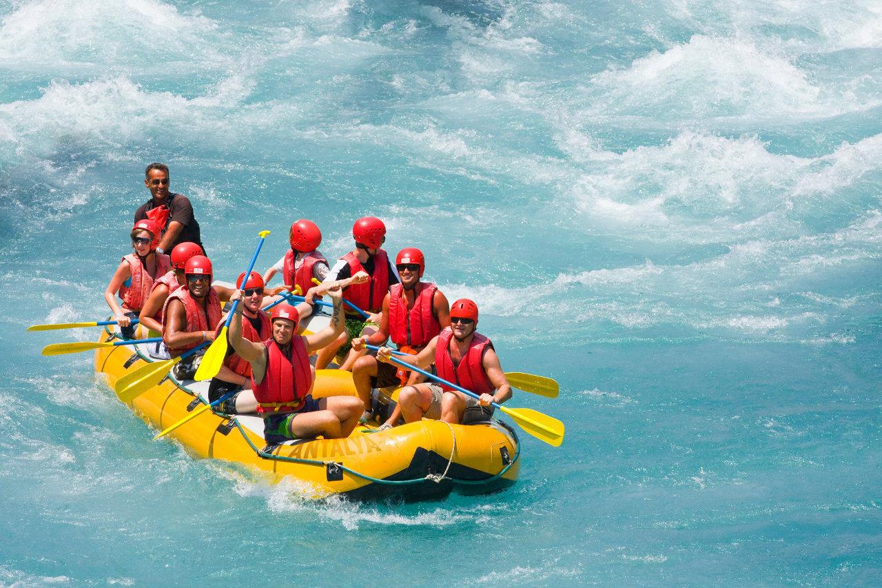 Whitewater rafting, Turkey