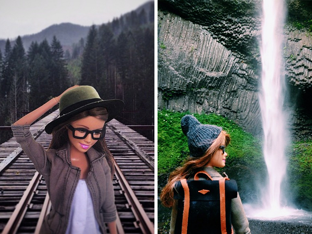 """Hipster Barbie"" proves how easy it is to fake compelling travel photos"