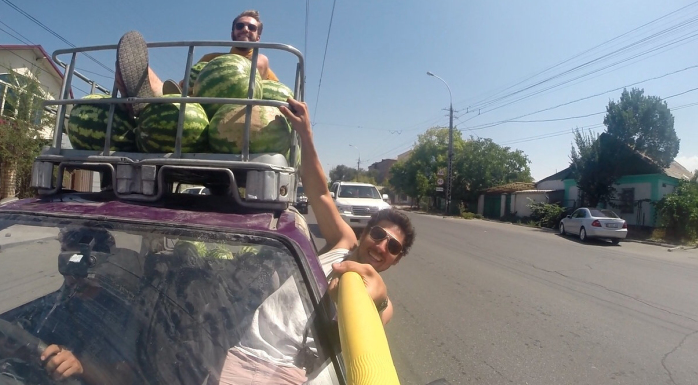 These guys are driving from NYC to Argentina. They keep it real. Here's how you can too.