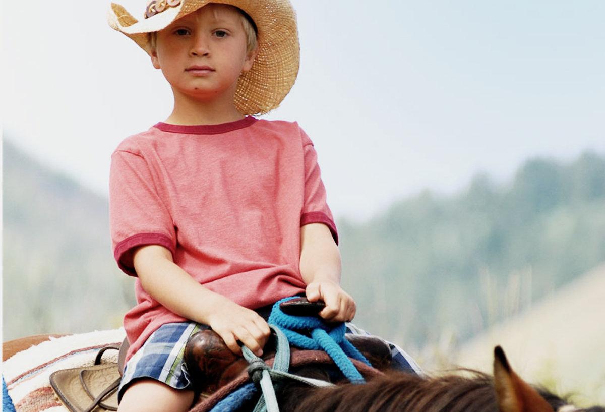Sun Valley on horseback