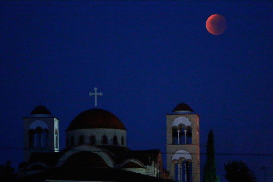 8 amazing photos of the super blood moon — in case you missed it
