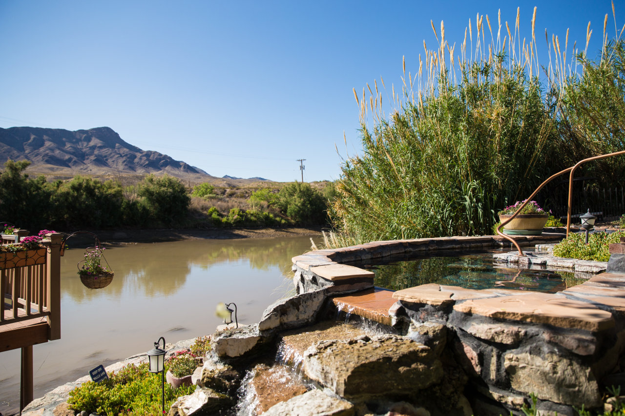 Hot springs in Truth or Consequences