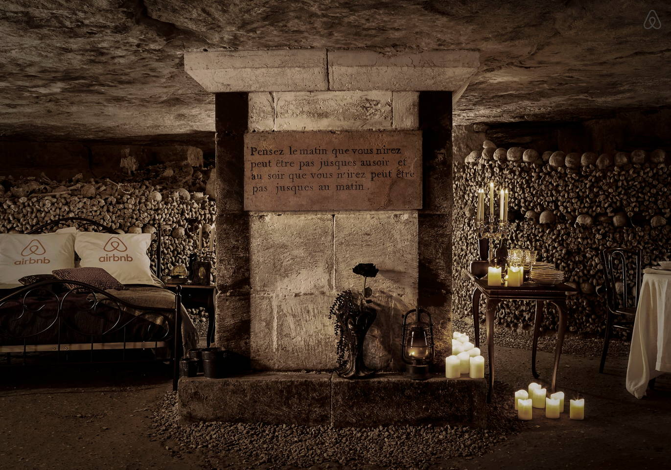 Airbnb catacombs 1