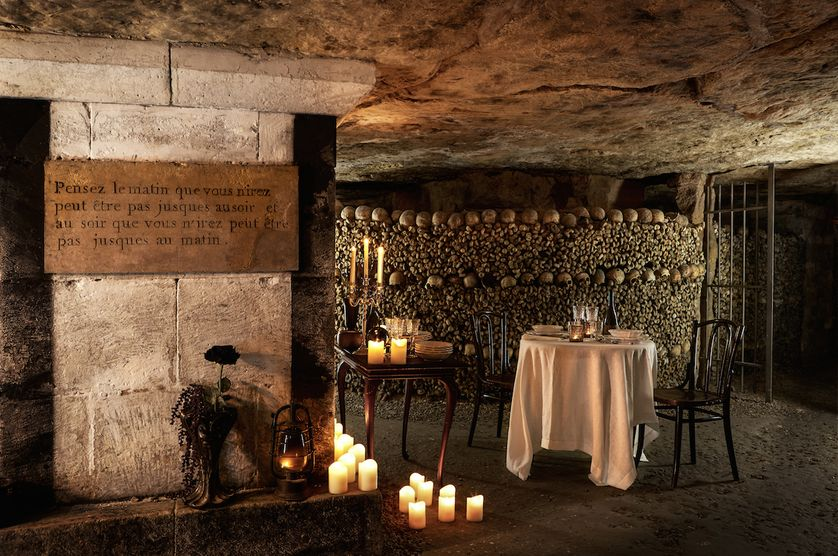 Airbnb catacombs 2