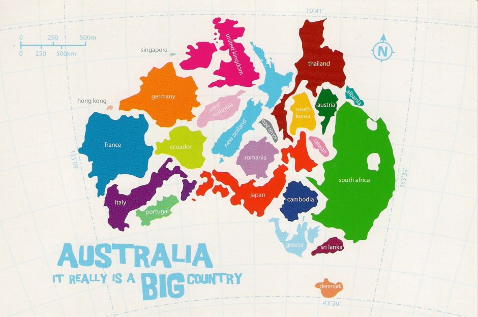 Map From England To Australia.32 Maps That Will Teach You Something New About The World Matador