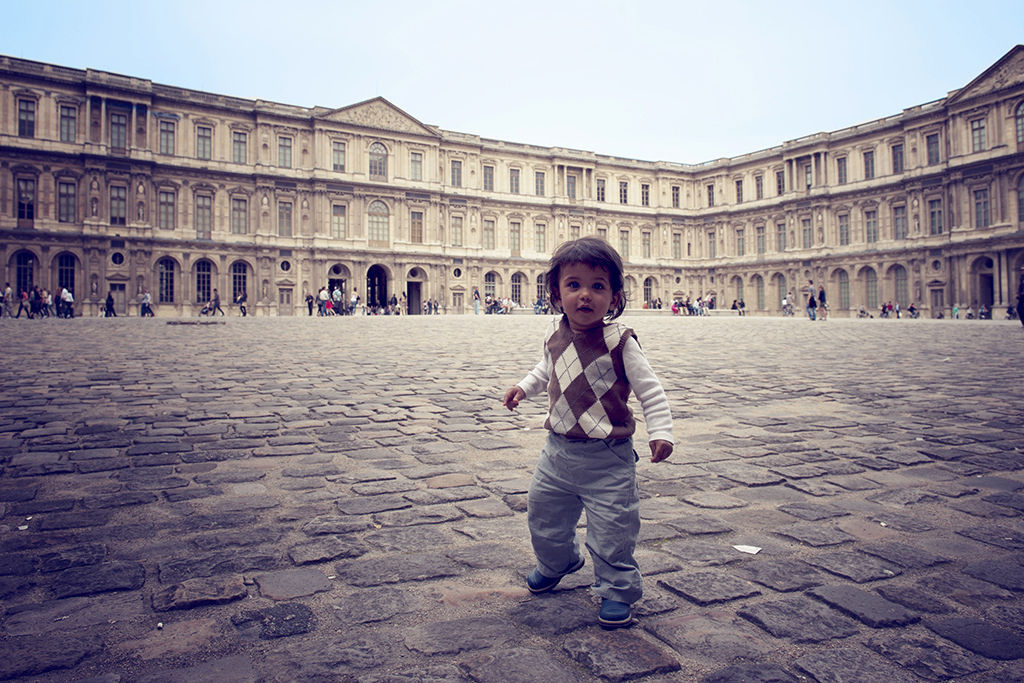 Child at the Louvre