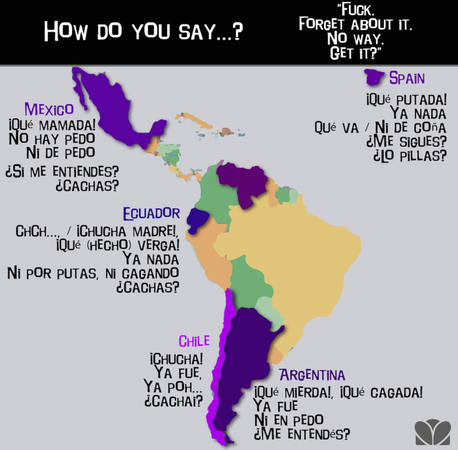 This Illustrated Guide Shows Why Its So Hard To Speak Spanish