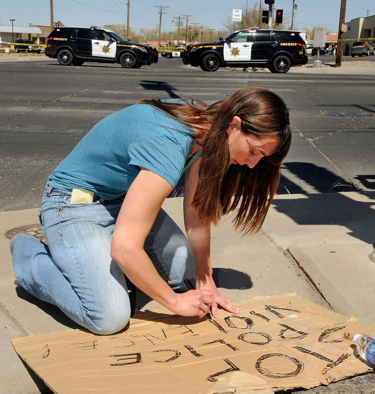 Sayrah Namaste, (un)Occupy Albuquerque