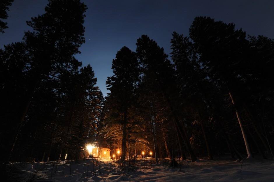 Blue Moon Yurts, Idaho