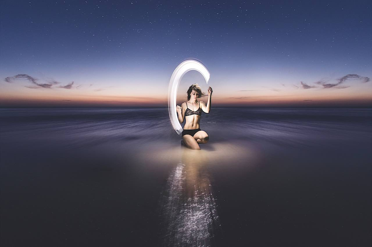 eric pare hand 500px painting source lights paints ocean seen way lit never pare photograph short before meet